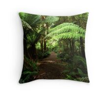 Into the Rain Forest Throw Pillow