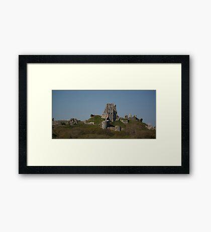 Corfe Castle, Dorset Framed Print