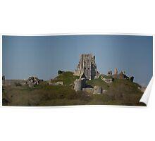 Corfe Castle, Dorset Poster