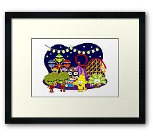 Veggie Ventures The Carnival Framed Print