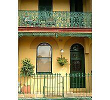 Sydney Town House Photographic Print