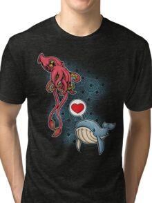 SUSHI... LOVE. Tri-blend T-Shirt