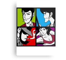Lupin the third and his friends Metal Print
