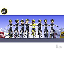 #PolyPeloton : Chris Froome Wins Photographic Print