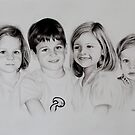 Children portrait by Peter Lawton