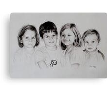 Children portrait Canvas Print