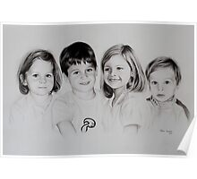 Children portrait Poster
