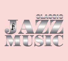 Classic Jazz Silver One Piece - Short Sleeve