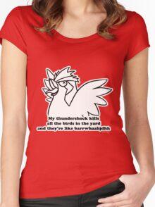 Pokemon - Thundershock Women's Fitted Scoop T-Shirt