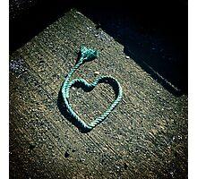 I love.....rope Photographic Print