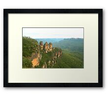 The sisters  Framed Print