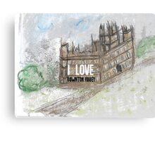 I love Downton Canvas Print