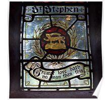 St Stephen  Poster
