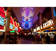 Beer Goggles - Las Vegas Photographic Print