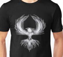 The Mythical Phoenix (b/w) Unisex T-Shirt