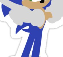 Sonic The Hedgehog (Vector Graphic) Sticker