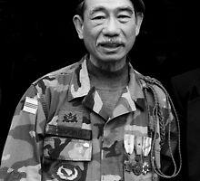 South Vietnamese Vet  by Andrew  Makowiecki