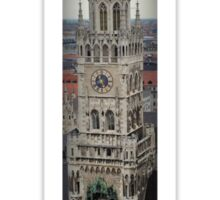 Clock Tower: Rathaus, Munich Sticker
