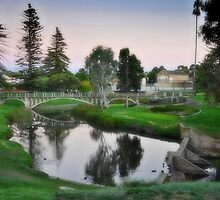 Strathalbyn Angus River by JaninesWorld