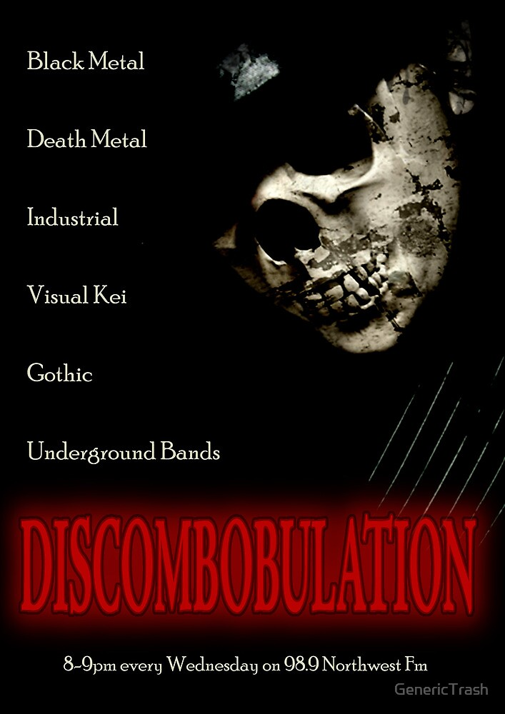 Discombobulation Flyer by GenericTrash