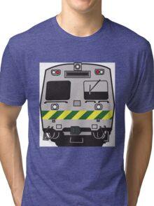 Hitatchi Train Melbourne Tri-blend T-Shirt