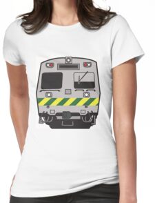 Hitatchi Train Melbourne Womens Fitted T-Shirt