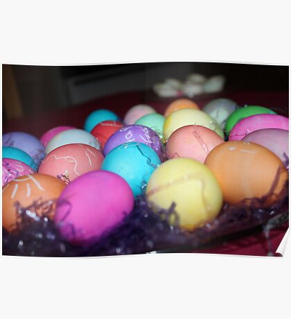 Easter Eggs Poster