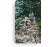 Momme n me Canvas Print