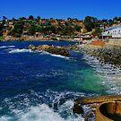 Blue Sea - Chile by Daidalos