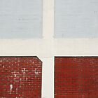 Red bricks. Blue bricks by Celia Strainge