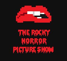 8-Bit Rocky Horror Lips Unisex T-Shirt