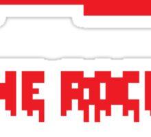 8-Bit Rocky Horror Lips Sticker