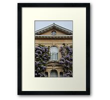 Wisteria Window Framed Print