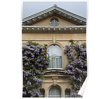 Wisteria Window Poster