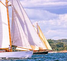 Sailing Together by JoeGeraci