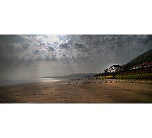 Sunrise at Sandsend  Photographic Print