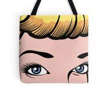 Pop Eyes Tote Bag