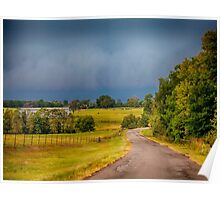 East Texas Cold Front Poster
