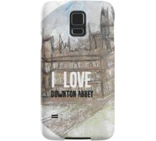 I love Downton Samsung Galaxy Case/Skin