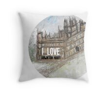 I love Downton Throw Pillow