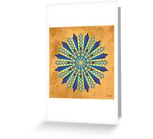 Mandala No. 11 Greeting Card