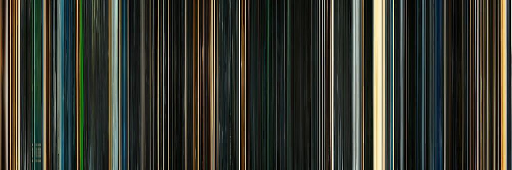 Moviebarcode: Sunshine (2007) by moviebarcode