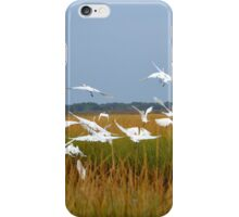 Ardea Alba | Great Egret Flock | Hampton Bays, New York iPhone Case/Skin