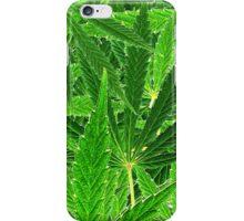 hemp leaf collage iPhone Case/Skin