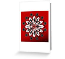 Mandala No. 18 Greeting Card