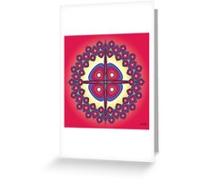 Mandala No. 19 Greeting Card