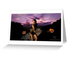 Dance on Fire... Greeting Card
