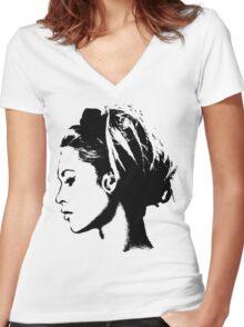 Brigitte Bardot Women's Fitted V-Neck T-Shirt