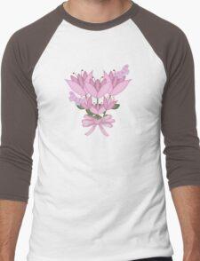 Pretty in Pink Men's Baseball ¾ T-Shirt