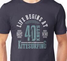 Kitesurfing 40 Knots Extreme Sport Unisex T-Shirt